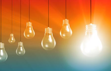 pensamiento creativo: Piense fuera de la caja o el pensamiento Diferentes Ideas