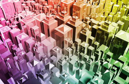 grid background: Futuristic Web Cyber Data Grid Color Background Stock Photo