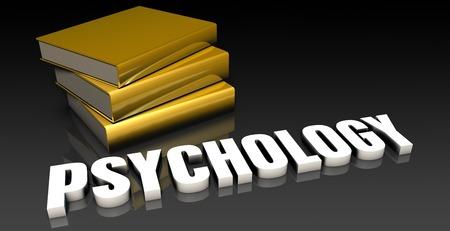 soumis: Psychologie Sujet avec un tas de Education Livres Banque d'images