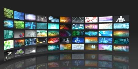 tecnologias de la informacion: Tecnología Multimedia Dispositivos Digitales Información Concept