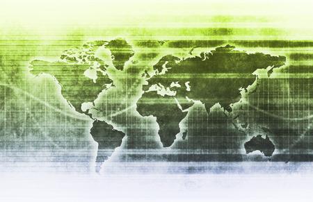 유행: 예술로 글로벌 비즈니스 또는 국제 기업 스톡 콘텐츠