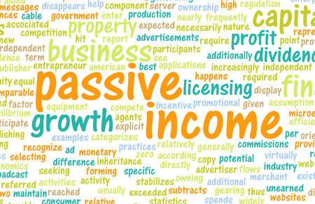 financial diversification: Passive Income as a Wealth Concept Art
