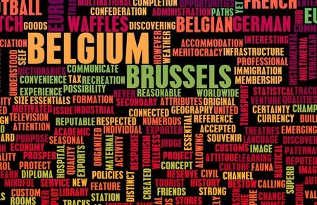 Belgique Banque d'images - 45474010