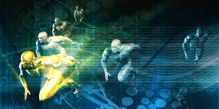 경쟁력있는 스포츠 훈련 커뮤니티를위한 스포츠 클럽