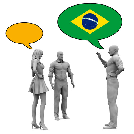 Learn Portuguese Culture and Language to Communicate Stock Photo