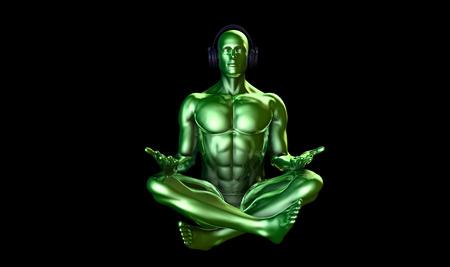 music therapy: Musicoterapia y liberar el estr�s mental como concepto