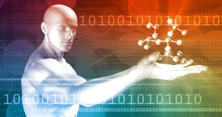 혁신적인 기술과 미래의 스마트 소프트웨어 스톡 콘텐츠