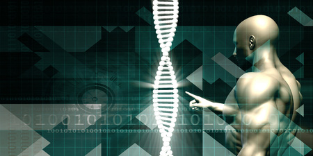 abstract academic: Medical Abstract Background of a Futuristic Science Art Stock Photo