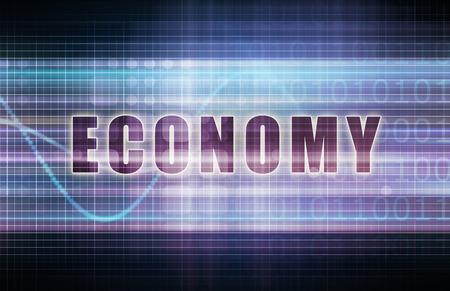 테크 비즈니스 차트 아트에 대한 경제 스톡 콘텐츠