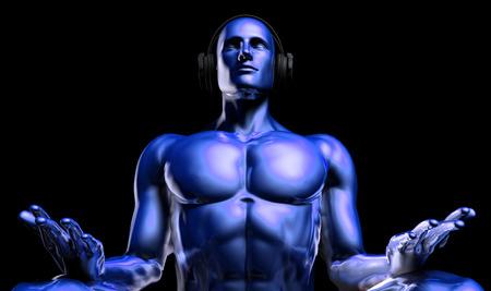 meditation man: Meditation Music and Peaceful Enjoyment of a Man