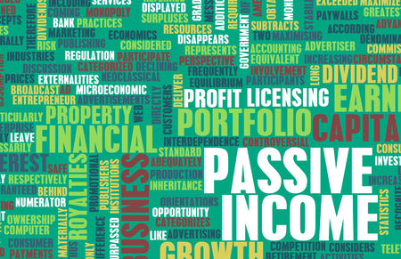 passive income: Passive Income as a Wealth Concept Art