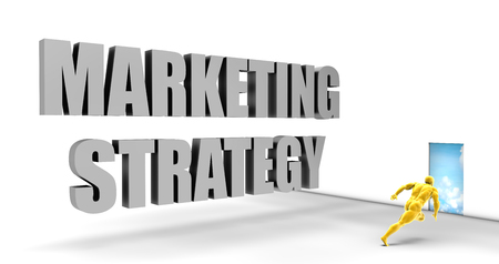 direct marketing: Marketing Strategy as a Fast Track Direct Express Path Stock Photo