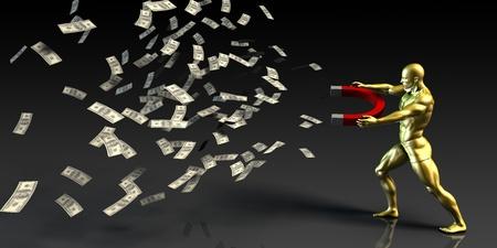 monetization: Marketing Strategy and Monetization Process as a Goal Stock Photo