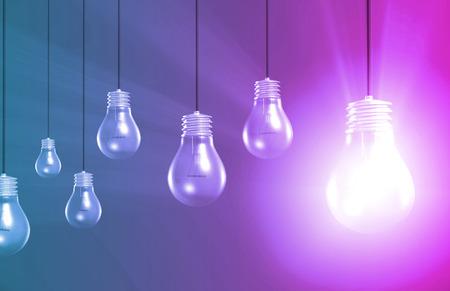 innovación: Único punto de venta o USP Idea como un concepto Foto de archivo