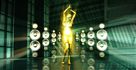 party system: Party Trance Beats Music Concert as a Concept