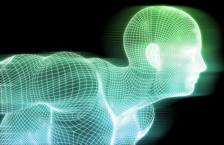 tecnología informatica: Asegure la tecnología y proteger la información de datos Concepto