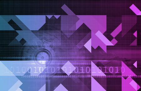 metadata: Business Intelligence and Decision Making Abstract Art Stock Photo