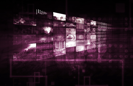 broadcast: Digital Entertainment and Streaming Broadcast Technology Art