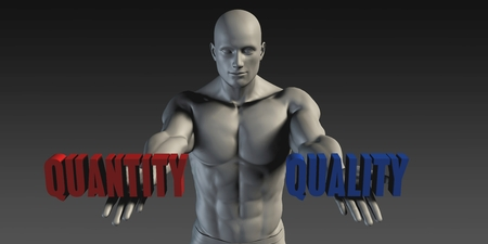 quantity: Quantity or Quality as a Versus Choice of Different Belief
