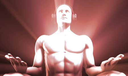 metaphysical: Listening to Music and Reaching a Calm Zen State