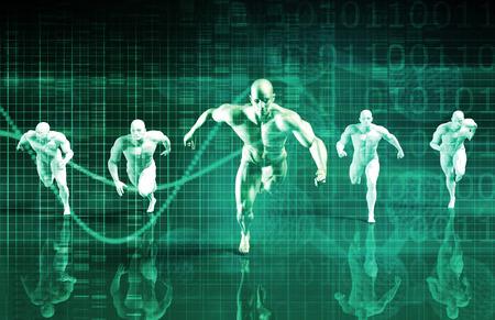 個人的な開発科学やコーチング サービスのコンセプト