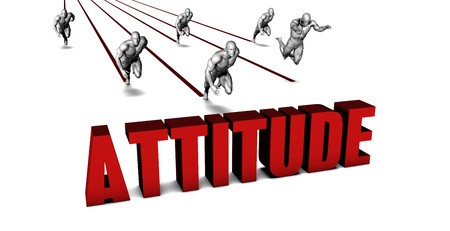 attitudes: Better Attitude with a Business Team Racing Concept