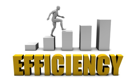 increase business: Increase Your Efficency  or Business Process as Concept Stock Photo