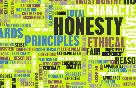 Honesty and Trustworthy Character of a Person