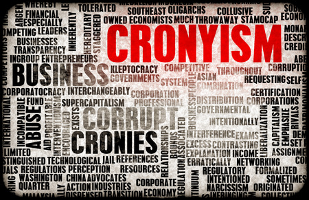unfair: Cronyism in the Business and Government as a Concept