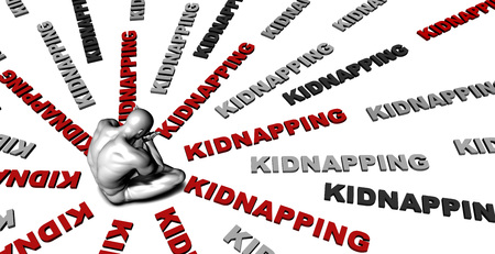kidnapping: Suffering From Kidnapping with a Victim Crying Male