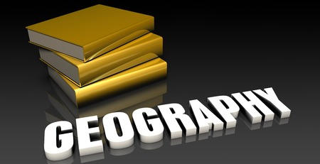 soumis: Sujet G�ographie avec un tas de Education Livres Banque d'images