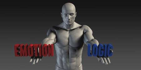 l�gica: Emoci�n o Logic como Versus selecci�n de diferentes Creencia