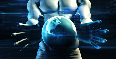 sensational: Global Science Project for Development and Growth Stock Photo