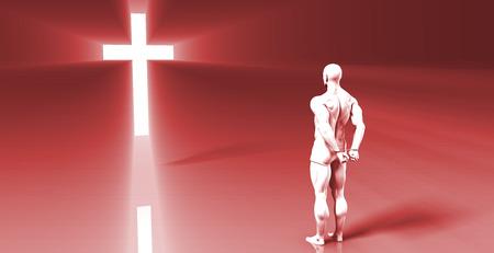 arrepentimiento: Christian Outreach Program for Prisoner Repentance of Sins Foto de archivo