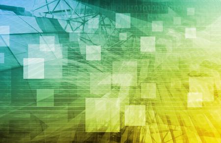 Plate-forme de médias à l'ère numérique de l'Internet Banque d'images