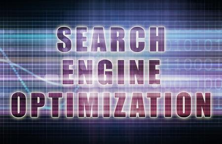 검색 엔진 최적화 또는 비즈니스 차트의 SEO