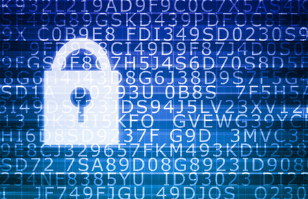 Security Technology Online and Digital Privacy Encryption Imagens - 48933223