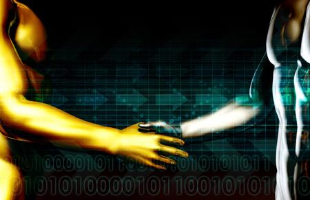 mysql: Web Application Database System in 3d Background Stock Photo