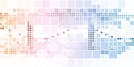 soothing: Website Background With Cube Squares and Colorful Art