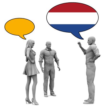 dutch culture: Learn Dutch Culture and Language to Communicate Stock Photo