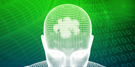 being: Brain Processor of a Human Mind and Memory Concept