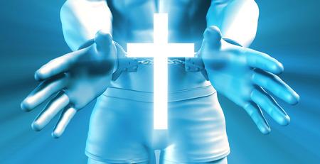 convict: Divine Intervention and Religious Change for Convict Stock Photo