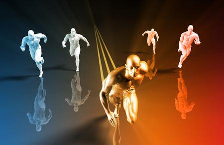 forme et sante: Programme de formation de remise en forme comme un Concept Art
