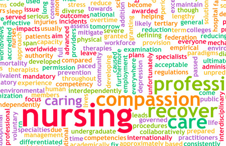 medical career: Nursing as a Medical Profession and Career Stock Photo