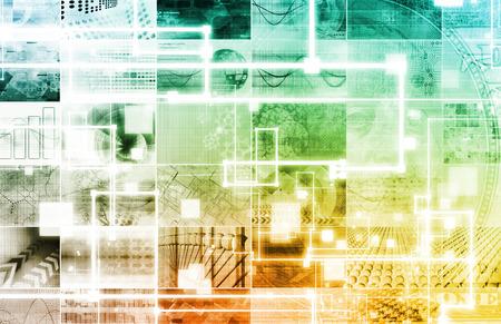 Gestion des risques avec le processus d'évaluation comme Concept Banque d'images