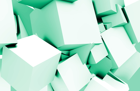 sooth: Cubes Square Background in 3d as a Abstract