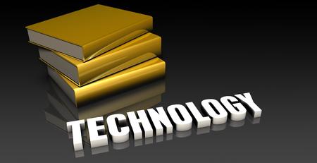 soumis: Technologie Sujet avec un tas de Education Livres