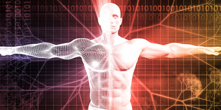 bioengineering: Bioengineering or Biological Engineering as a Concept Stock Photo