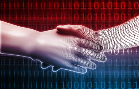 sistemas: Sistema de la Integración del concepto de dos socios comerciales