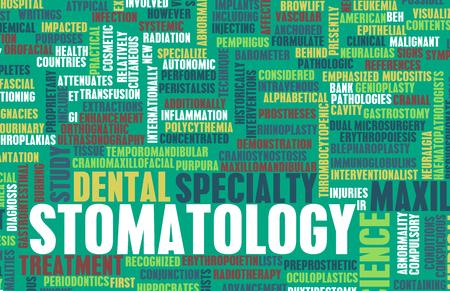 stomatologist: Stomatology or Stomatologist Medical Field Specialty As Art